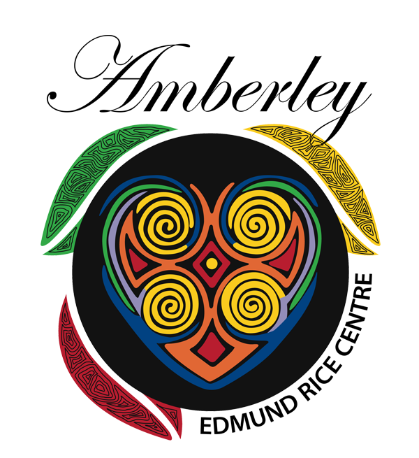 Logo of Amberley events centre and venue for Special Functions, School Camps and Group Retreats.